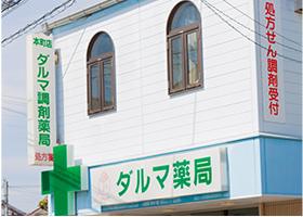 薬局は市内4店舗